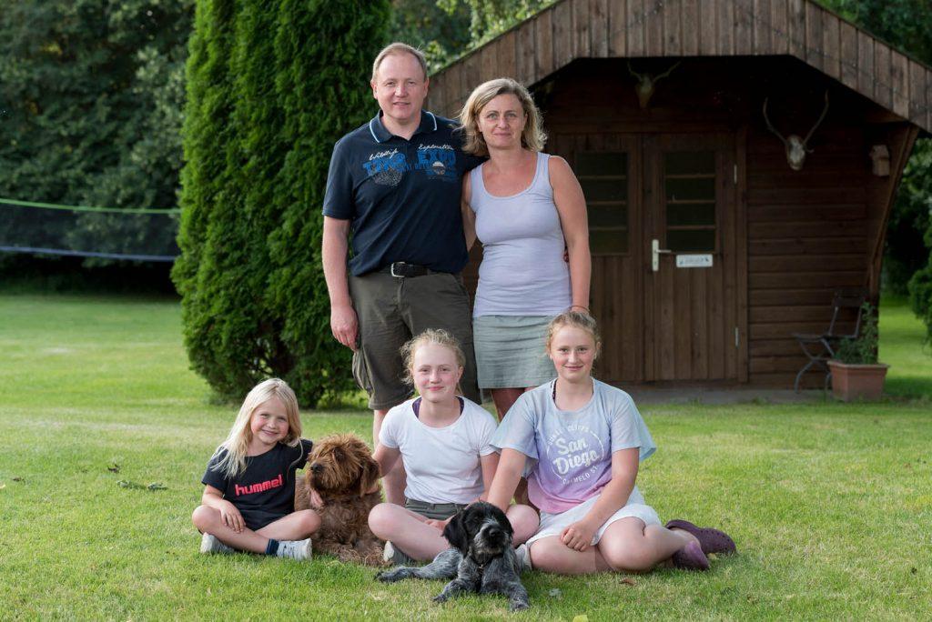 Familie Petersen vom Ferienhof Langballig stellt sich vor